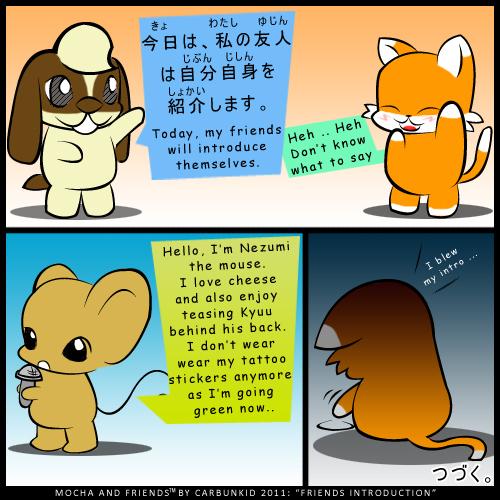 Mocha and Friends Comic 12