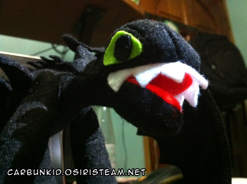toothless close